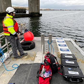 Automated vibration monitors on board