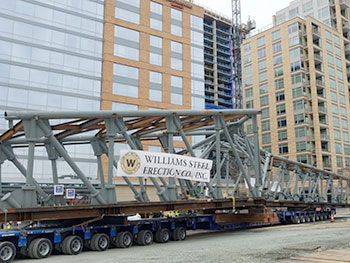 Ballston bridge on truck