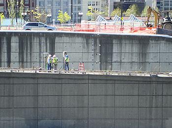 I-5 Retaining Wall