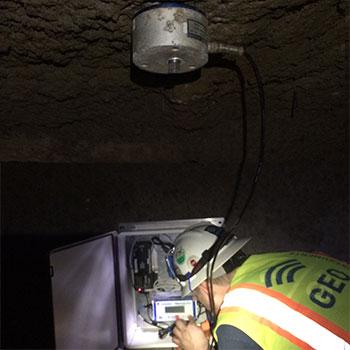 Rosslyn Station Vibration Monitor