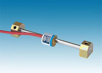Arc-weldable strain gauge