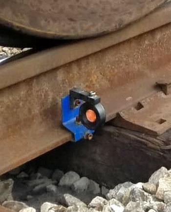 Rail Clip Prism insitu