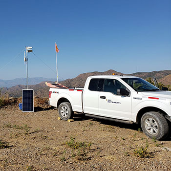 Comms station at 4000 feet
