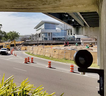 AMTS Control Prism at Tampa Airport