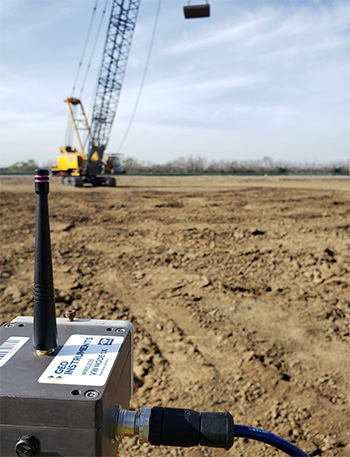 Monitoring ground improvement with deep dynamic compaction and surcharge