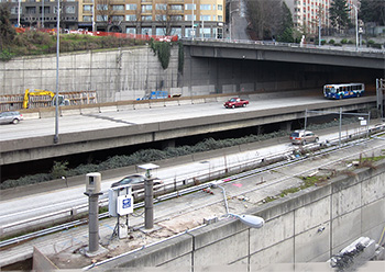 ATMS on I-5 Undercrossing