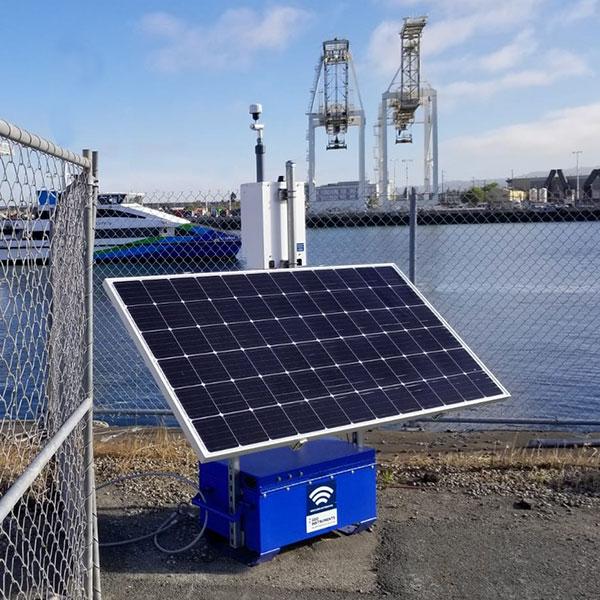 Solar Powered Dust Monitor