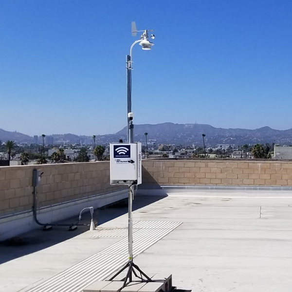 Dust Monitor with wind sensor