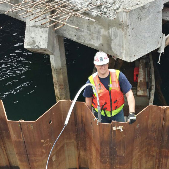 Elliott Bay Seawall Sheet Pile