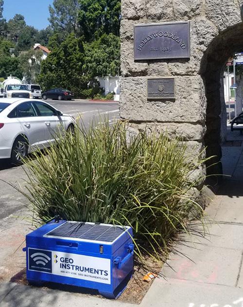 Hollywoodland Vibration Monitoring