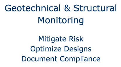 Geotechnical & Structural Monitoring