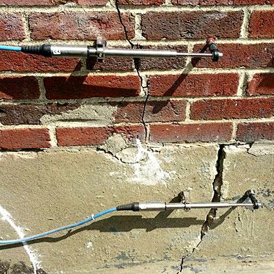 Charlestown Navy Yard crackmeters