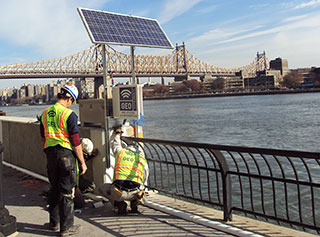 FDR Drive Solar-Powered Logging