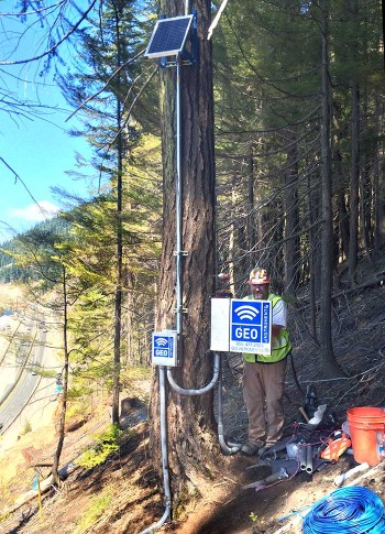 Remote monitoring station - Snoqualmie Pass