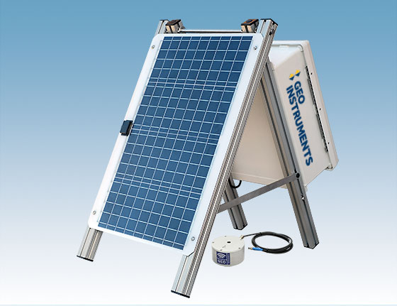 SVM Solar Powered Vibration Monitor