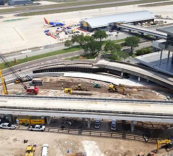 Tampa airport works