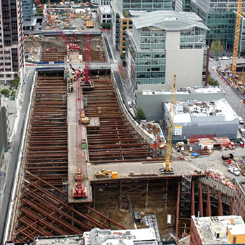 Transbay Transit Excavation